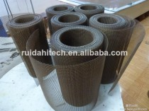 Kevlar border teflon open mesh/PTFE mesh conveyor belt