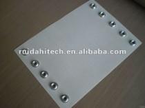 PTFE conveyor belt with eyelets