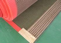 PTFE teflon fiberglass fabric conveyor belt, non-sticky conveyor belt