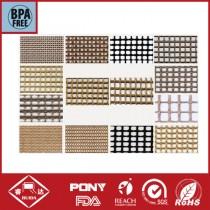 Teflon coated fiberglass mesh conveyor belt,teflon mesh,BBQ grill mat