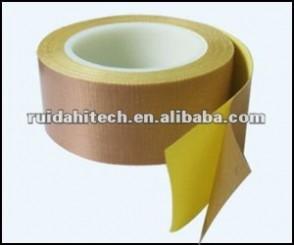 Ptfe fiberglass insulation tape teflon adhesive fabric