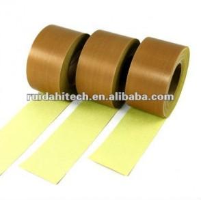 High temperature glass fiber adhesive tape teflon adhesive cloth