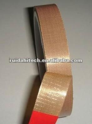 High temperature ptfe teflon coated fiberglass adhesive tape teflon adhesive fabric cloth