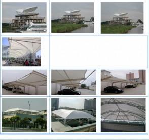Ptfe achitechural film,structuring membrane PTFE coated fiberglass roofing film