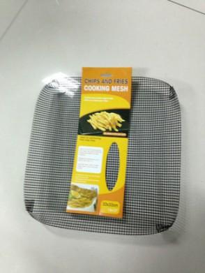 PTFE fiberglass mesh tray, pizza tray, teflon oven wire mesh basket