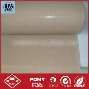 Best Service 0.80mm PTFE coated fiberglass fabric