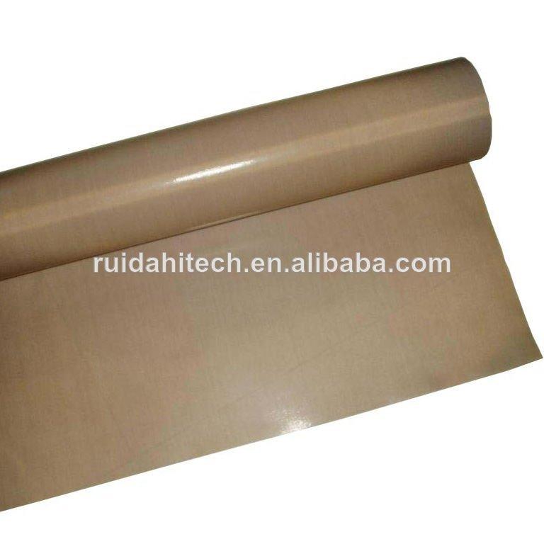 PTFE/teflon coated fiberglass fabric big jumboo rolls