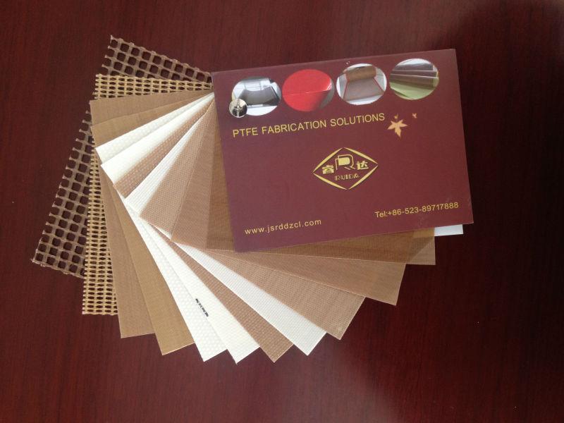 Heat resistance teflon coated fiberglass fabric